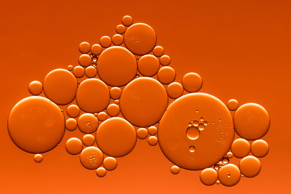 microscope image of liquid